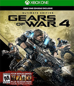 Gears of War 4 Ultimate Edition para Xbox One