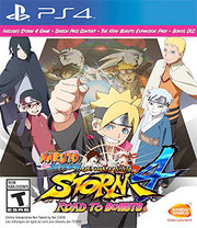 Naruto Shippuden: Ultimate Ninja Storm 4 - Road to Boruto para PS4