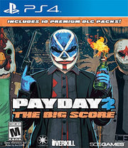 Payday 2 The Big Score para PS4