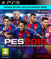 Pro Evolution Soccer 2018 para PS3