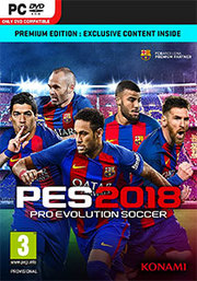 Pro Evolution Soccer 2018 para PC