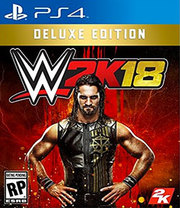 WWE 2K18 Deluxe Edition para PS4