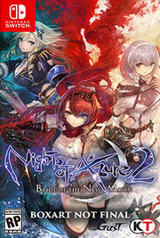 Nights of Azure 2: Bride of the New Moon para Nintendo Switch