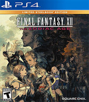 Final Fantasy XII: The Zodiac Age Limited Steelbook Edition