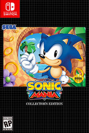 Sonic Mania Collector's Edition para Nintendo Switch
