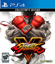 Street Fighter V Collector's Edition para PS4
