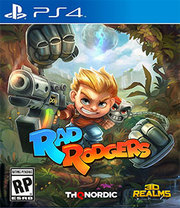Rad Rogers: World One para PS4