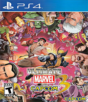 Ultimate Marvel vs. Capcom 3 para PS4