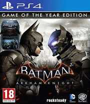 Batman: Arkham Knight - Game of the Year Edition para PS4