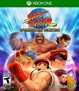 Street Fighter: 30th Anniversary Collection para Xbox One