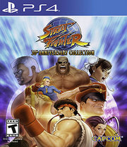 Street Fighter: 30th Anniversary Collection para PS4