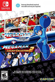 Mega Man Legacy Collection + Mega Man Legacy Collection 2 para Nintendo Switch