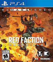 Red Faction Guerrilla Remastered para PS4