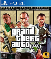 Grand Theft Auto V Premium Online Edition para PS4