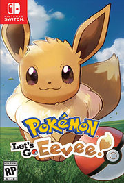 Pokemon Lets Go Eevee para Nintendo Switch