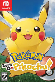 Pokemon Lets Go Pikachu para Nintendo Switch