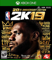 NBA 2K19 20th Anniversary Edition para Xbox One