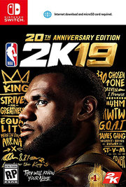 NBA 2K19 20th Anniversary Edition para Nintendo Switch