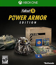 Fallout 76 Power Armor Edition para Xbox One