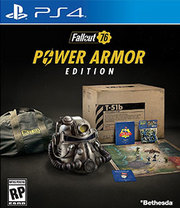 Fallout 76 Power Armor Edition para PS4