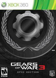 Gears of War 3 [Epic Edition] para XBOX 360
