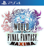 World of Final Fantasy Maxima para PS4