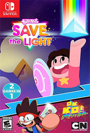 Steven Universe: Save the Light / OK K.O.! Let's Play Heroes 2 Games in 1 para Nintendo Switch