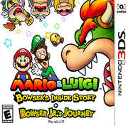Mario & Luigi: Bowser's Inside Story + Bowser Jr.'s Journey para 3DS