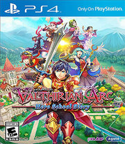 Valthirian Arc Hero School Story para PS4