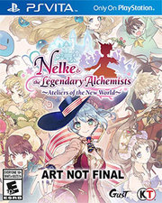 Nelke & the Legendary Alchemists Ateliers of the New World para PS Vita