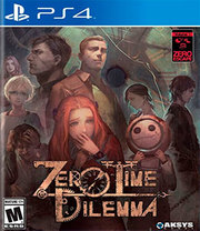 Zero Escape: Zero Time Dilemma para PS4