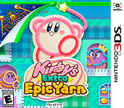 Kirby-s Extra Epic Yarn para 3DS