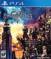 Kingdom Hearts III + Steelbook para PS4