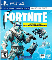 Fortnite Deep Freeze Bundle para PS4