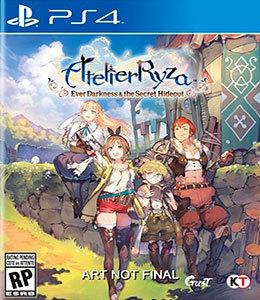 Atelier Ryza Ever Darkness & the Secret Hideout para PS4