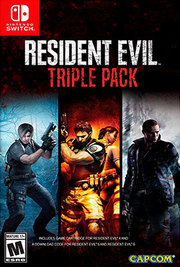 Resident Evil Triple Pack para Nintendo Switch