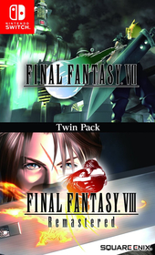 Final Fantasy VII & Final Fantasy VIII Remastered Twin Pack  para Nintendo Switch