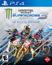 Monster Energy Supercross The Official Videogame 3 para PS4