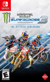 Monster Energy Supercross The Official Videogame 3 para Nintendo Switch