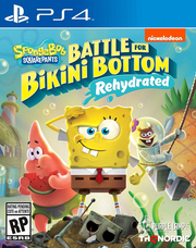 Spongebob Squarepants: Battle for Bikini Bottom Rehydrated para PS4