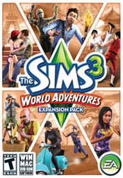 The Sims 3: World Adventures para PC