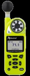 Kestrel 5400AG ganado Rastreador de tensión térmica con montaje de paletas Link
