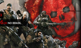 Pre order do Gears of War 3 no Brasil.