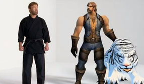 Chuck Norris em comercial de World of Warcraft