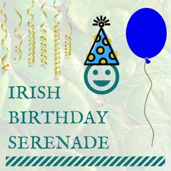 Irish Birthday Serenade cover art