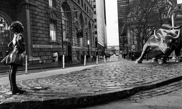 A Fearless Girl on Wall Street