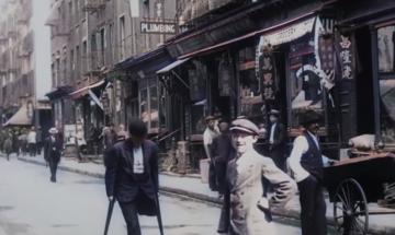New York City in 1911