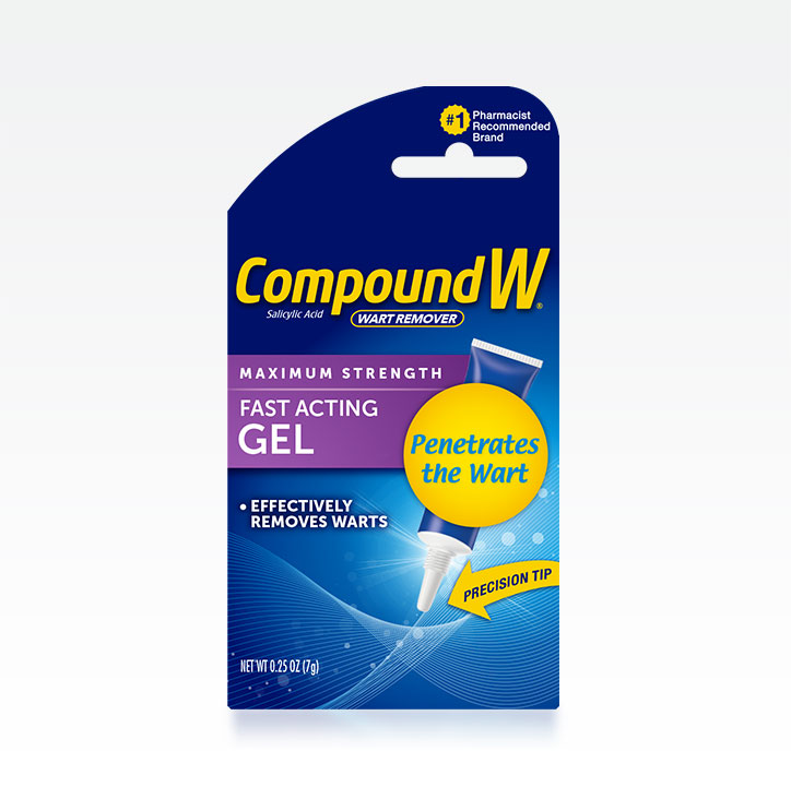 Compound W® Wart Removal Gel