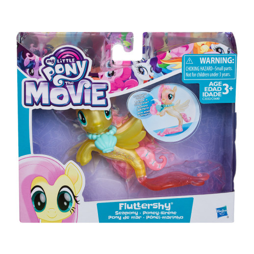 My Little Pony Figura Básica Ponysirena Fluttershy