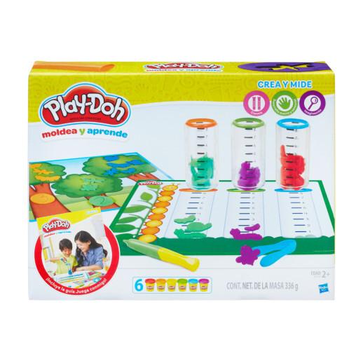 Play-Doh Moldea Y Aprende Crea Y Mide